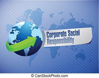 corporate social responsibility globe