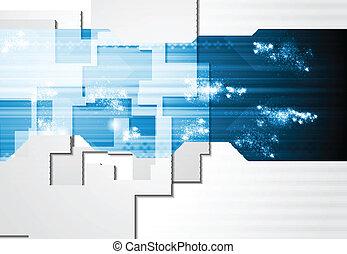 Corporate technology card design