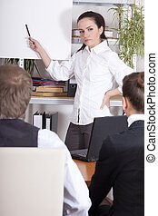 corporate training - man and woman receiving corporate...