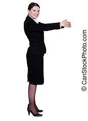 Corporate woman.
