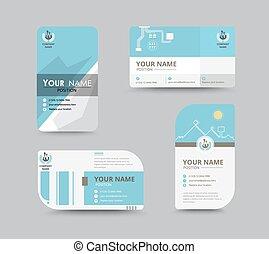 corporation., naam, handel illustratie, vector, ontwerp, template., kaart