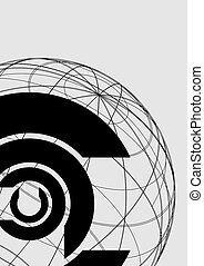 Corporation symbol - Creative design of corporation symbol