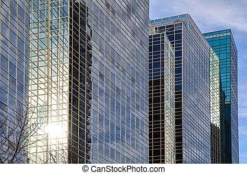 corporativo, edificios