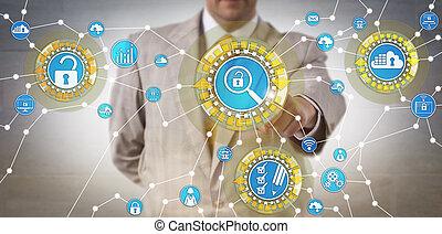 corporativo, identificar, auditor, vulnerabilidad