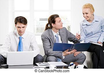 corporativo, riunione