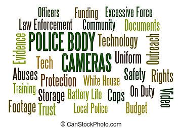 corps, cameras, police