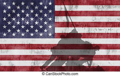 corps, commémoratif, marin, guerre