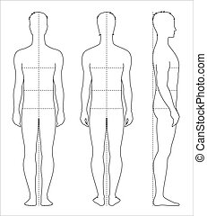 corps, hommes, mesures