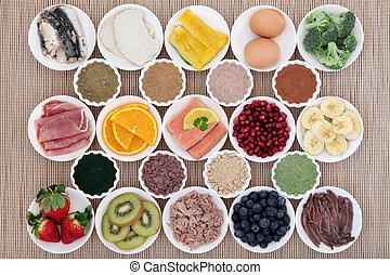 corps, nourriture régime, bâtiment