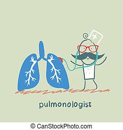 corps, pulmonologist, poumons, écoute