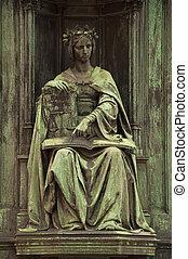 Corpus Juris Statue