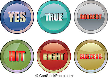 Correct buttons