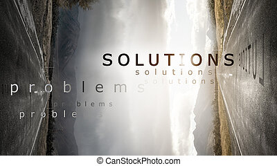 Two roads as concept of choosing problem solution way