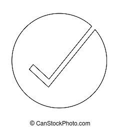 Correct, pictogram