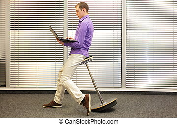 correct position during office work