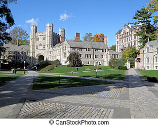 corredor, blair, universidade, princeton