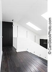 corredor, chão