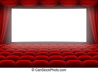 corredor, cinema