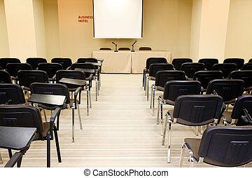 corredor conferência