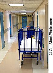 corredor, hospitalar
