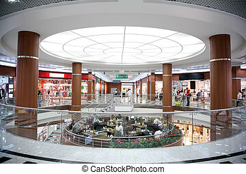corredor, loja