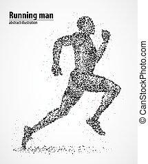 corredor, maratón, competición, atletismo