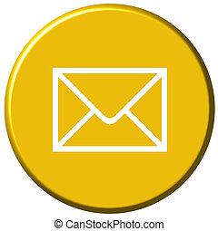 correio, botão