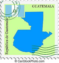 correio, guatemala, to/from