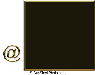 correio, símbolo