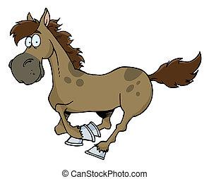 correndo, cavallo