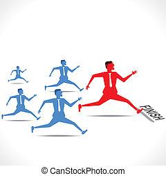 correndo, competição
