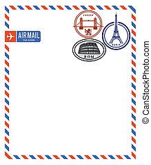 correo, aire
