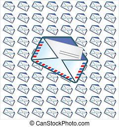 correo, símbolo