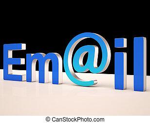 correspondance, toile, spectacles, lettres, e-mail