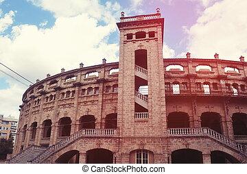 Corrida Arena. Plaza de toro, Palma de Mallorca