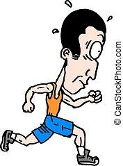 corrida, caricatura