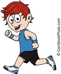 corrida menino