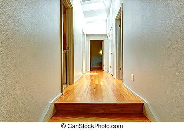 Corridor in empty house