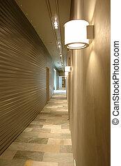 corridor  in perspective