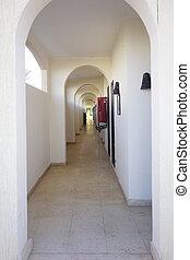 Corridor - Perspective of the corridor