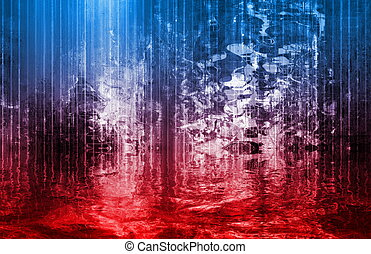 corriente tecnología, río, resumen