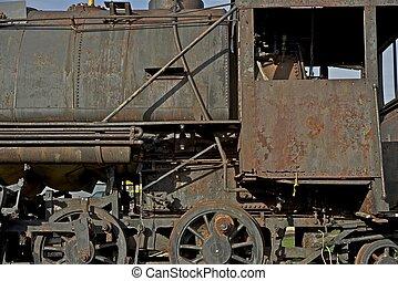 Corroded Locomotive