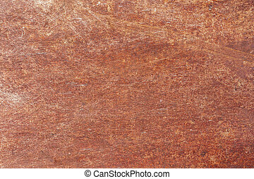 Corrosion of metal texture