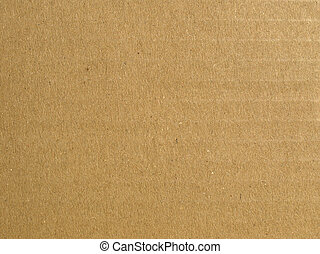 Corrugated cardboard - Brown corrugated cardboard sheet ...
