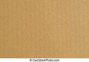 Corrugated cardboard - Brown corrugated cardboard sheet...