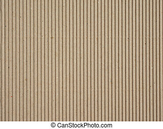 Corrugated cardboard - Brown corrugated cardboard useful as ...