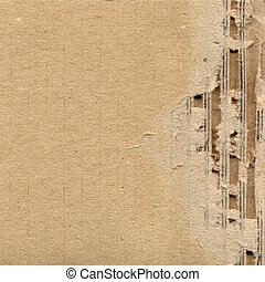 Corrugated cardboard - Brown corrugated cardboard useful as ...