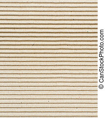 Corrugated cardboard texture - A fluted corrugated sheet...