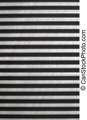Corrugated Iron - A close up shot of corugated iron