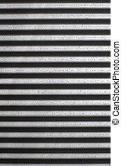 Corrugated Iron - A close up shot of corugated iron